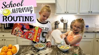 SCHOOL MORNING ROUTINE In Our New House!!!