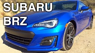 2017 Subaru BRZ Review - Updated Engine & Differential!
