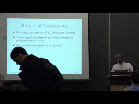 NIPS 2014 Workshop - (Mohri) Second Workshop on Transfer and Multi-Task Learning: Theory...