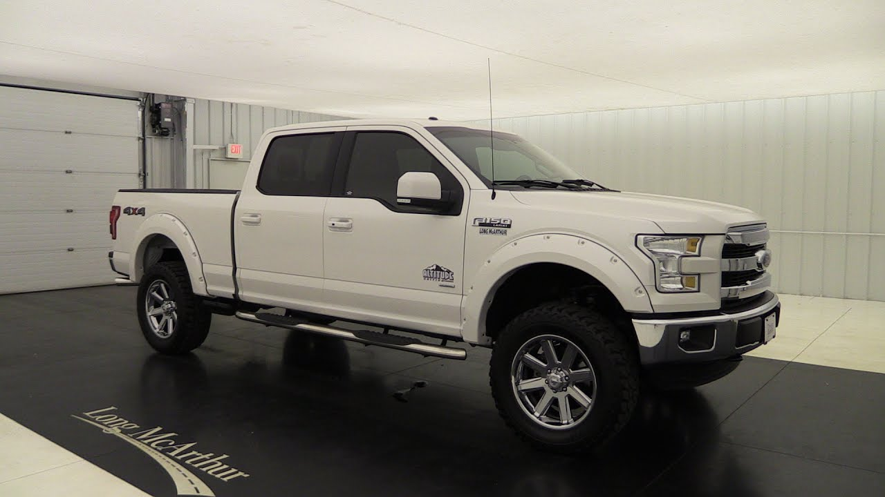 2015 Ford F 150 Lariat Rocky Ridge Altitude Edition 6 5