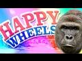 HARAMBE LEVELS!!!   HAPPY WHEELS
