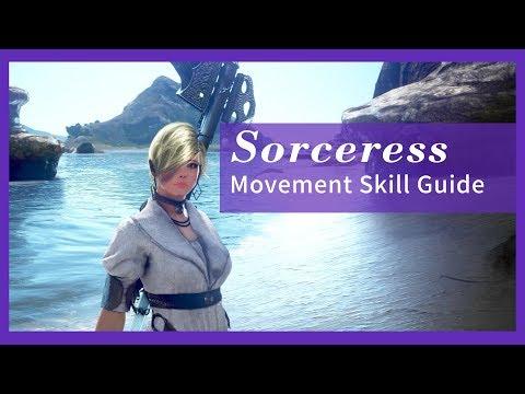 Black Desert Online Sorceress – Movement Skill Guide
