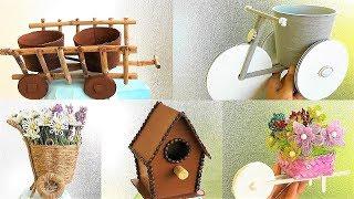 5 идей Декоративных поделок из разных материалов / Поделки своими руками