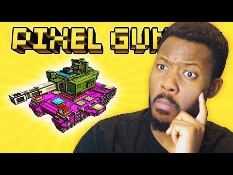 SO IM BUILDING A CLAN TANK! L Pixel Gun 3D