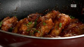 Crisp Chicken Wings - Tea Time