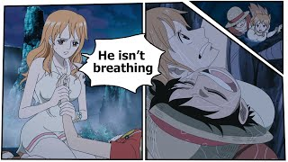 one piece nami saves luffy s life english subs