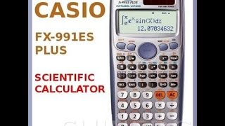Review about the solar power of casio calculator fx-991es plus