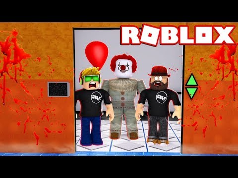 DON'T WATCH THIS IF YOU HATE CLOWNS! ROBLOX THE SCARY ELEVATOR