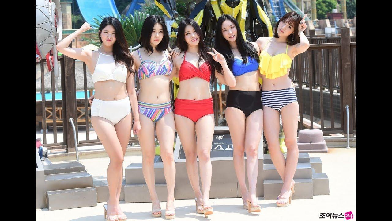 Brave Girls Show Off Their Bikini Body At Ocean World
