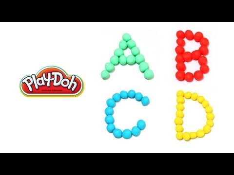 ABC Song Play-Doh Alphabet Song Sing-Along Song Phonics