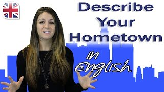 Talking About Your Hometown - Spoken English Lesson
