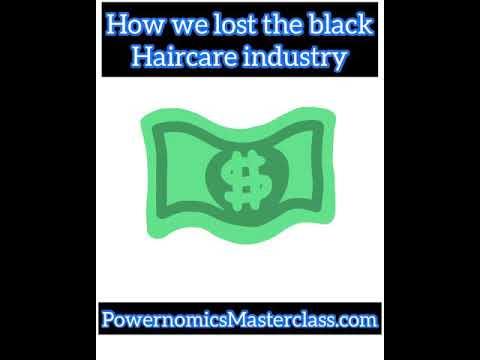 Black wealth was ruined when we lost the black hair industry