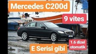Türkiye'nin en fazla otomobil test eden pilotu Mercedes C200d 1.6 dizel otomatik modelini test