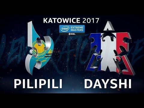StarCraft II - PiLiPiLi vs. Dayshi [PvT] - B2 Lower Ro4 - IEM Katowice 2017