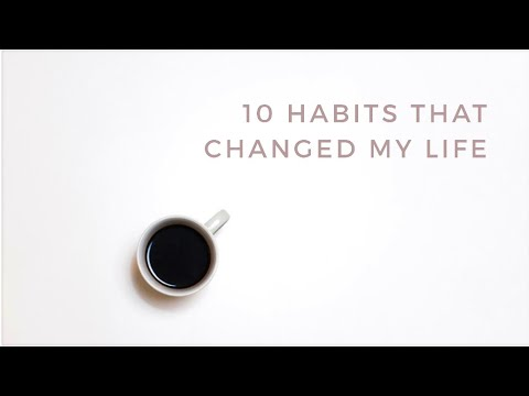 HEALTHY HABITS that changed my life | minimalist habits, healthy living
