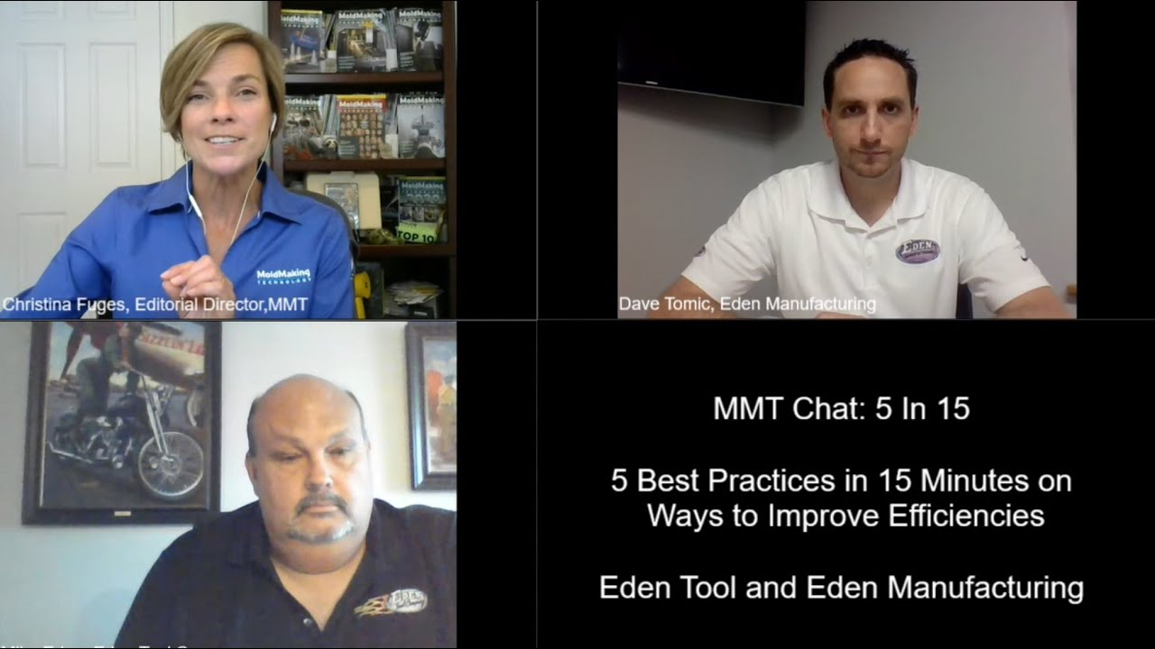 MMT Chats: 5 in 5 with Eden Tool Company and Eden Manufacturing