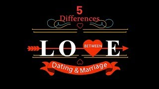 5 Differences Between Dating & Marriage[Prewedding Video]]