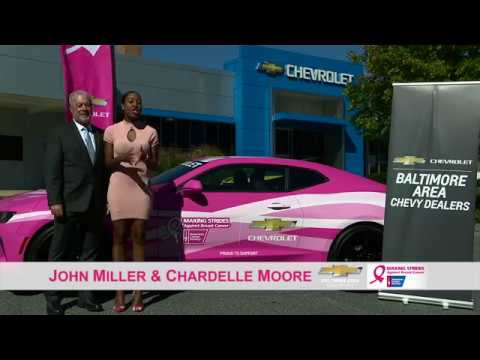 Chardelle Moore Baltimore Chevrolet Dealers Breast Cancer Awareness  TV Commercial