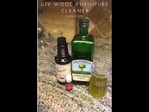 DIY Wood Furniture Cleaner