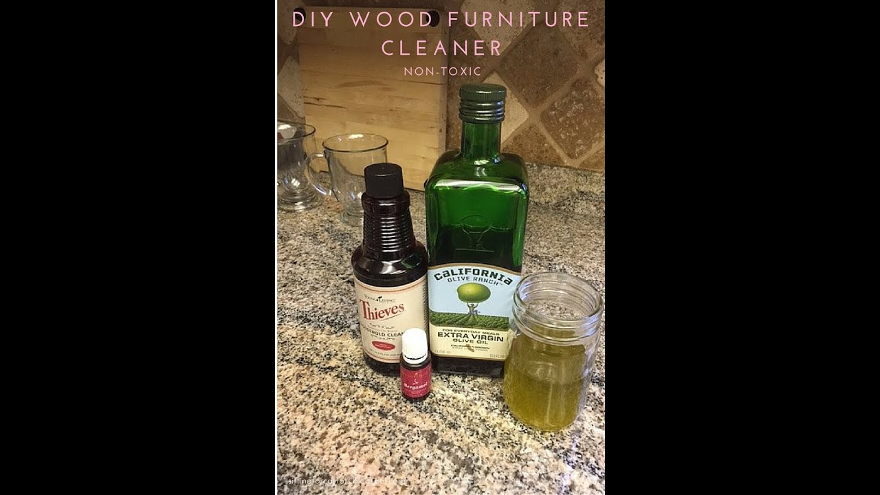 DIY Wood Furniture Cleaner   YouTube