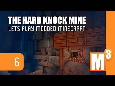 Minecraft: The Hard Knock Mine [FACE CAM]  | Modded Minecraft 6
