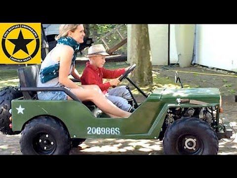 Gasoline Powered Car For Children Kids Jeep V I P Shuttle