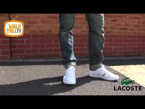 Mens Clothing Subscription >> Lacoste Europa Lace - White/Grey AW10 | www.walktall.co.uk | Large Mens Footwear and Clothing ...