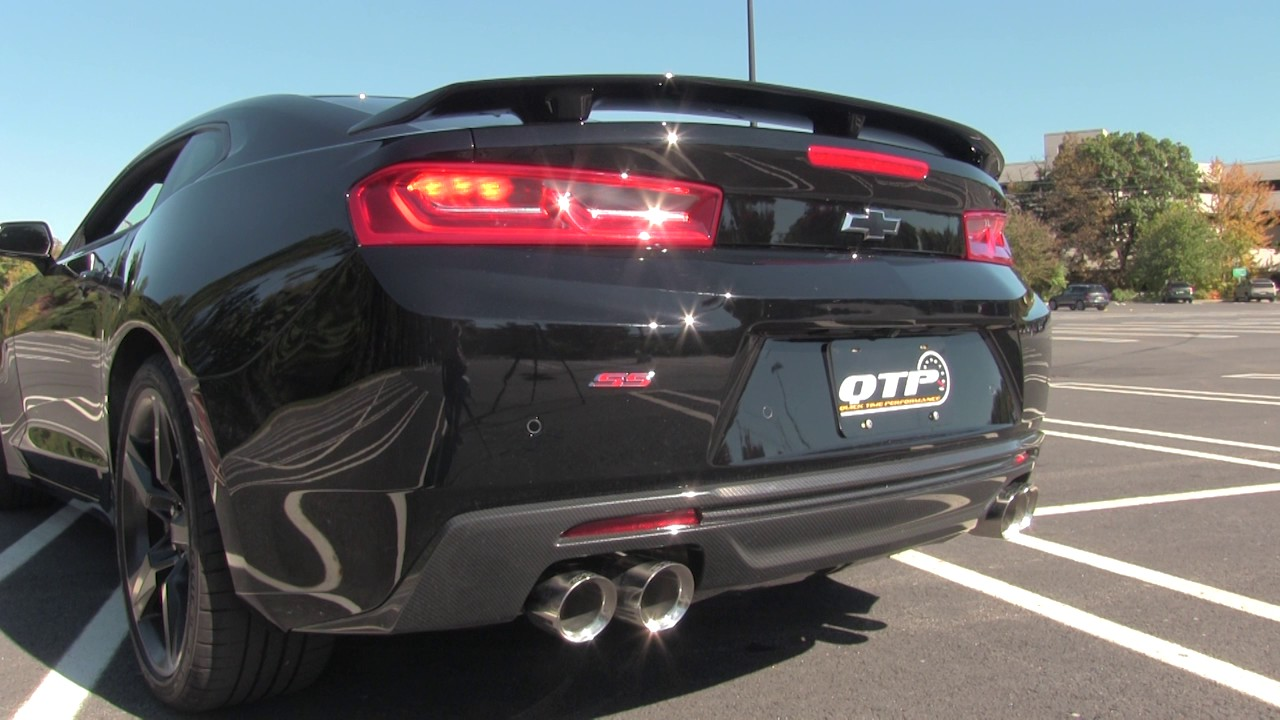 2016 camaro ss screamer exhaust system
