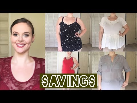 Plus Size Clearance Haul Try On