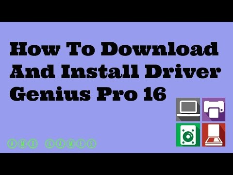How To Download And Install Driver Genius Pro 16 Free Full Tutorial