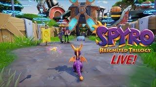 Let's Play Spyro Reignited Trilogy LIVE!: Spyro 2 - Part 10 (ft. Noel McDavid!)