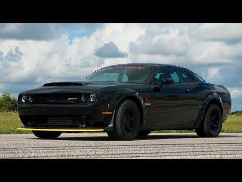 1200 HP Dodge Demon Validation Testing