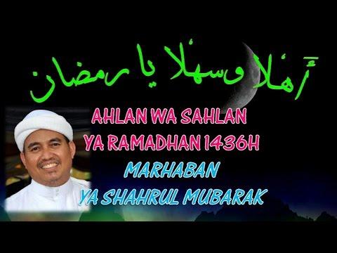 Ahlan Wasahlan Ramadhan