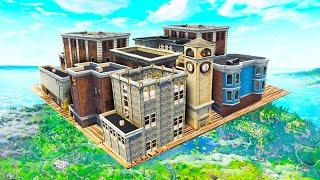 WE BUILT A REAL MEGA SKY CITY! - Fortnite