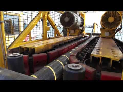 Maersk Recorder Array Cable Load Out