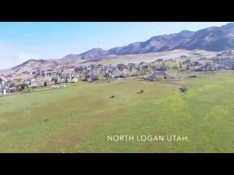 North Logan Utah From Above - Real Estate