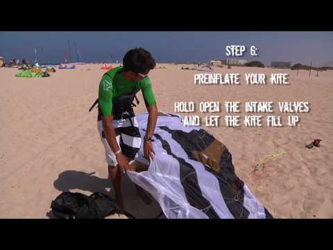 """How to?"" - Launching and Landing a Flysurfer kite"
