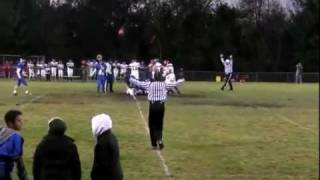 Oliver Holbrook Senior football highlights (BurrOak,Tekonsha2&Litchfield game)
