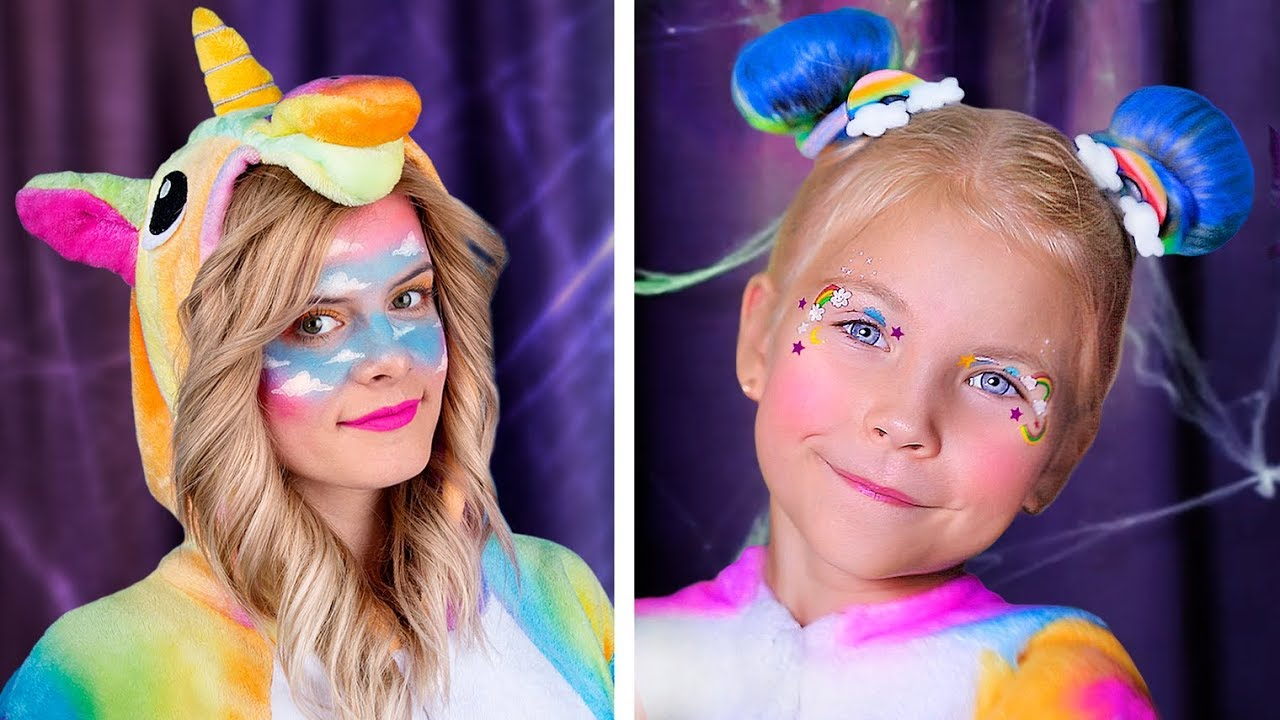 [VIDEO] - 7 Cute Halloween Makeup Ideas / Goo Goo Galaxy Makeup 5