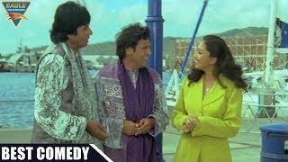 Comedy Scene    Govinda & Amitabh Bachchan Helps Madhuri Funny Comedy Scene    Hindi Comedy Movies