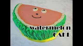 Who loves watermelon? I do, I do – especially when it is cake! And ...