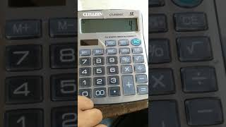How to use CT-8800GC 12 digits Calculator