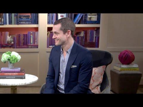 SCAD President Paula Wallace interviews actor Hugh Dancy