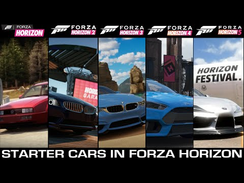 Starter Cars in Forza Horizon Games | From Forza Horizon to Forza Horizon 5