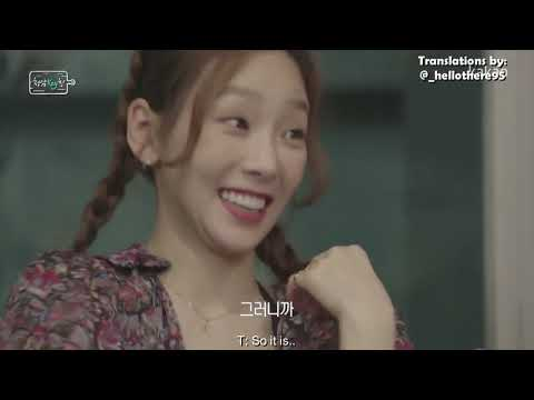 ENG 180920 Cheongdam Keytchen Ep 3  Taeyeon is famous among male trainees, memories of trainee days