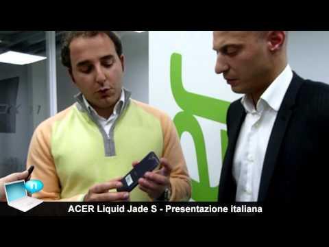 ACER Liquid Jade S presentazione italiana