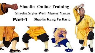 Shaolin Kungfu - Beginner Class - Part 01-Shaolin Style-Master Shi Yanxu