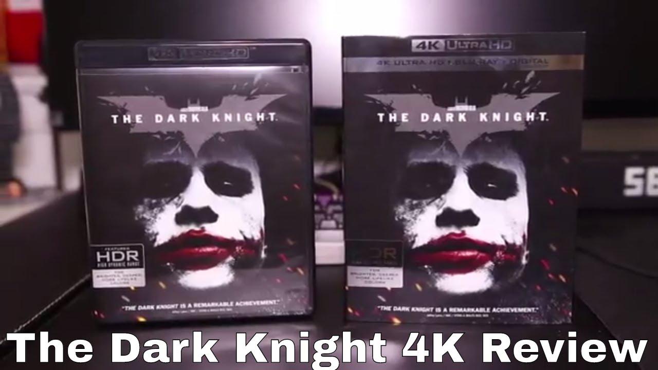 The Dark Knight 4k Blu Ray Review Youtube