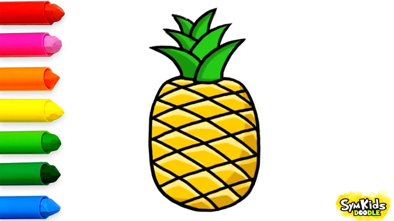 Pineapple drawings