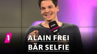 Alain Frei: Bär-Selfie